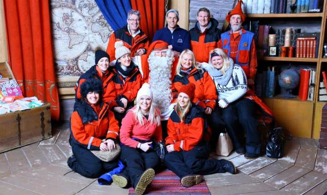 Finnish Lapland-Santa