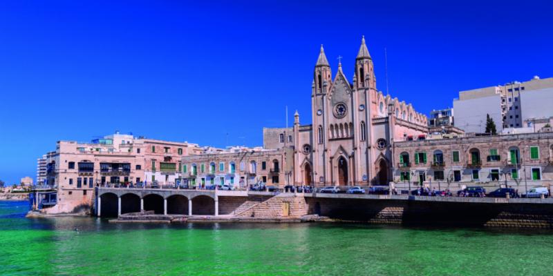 Balluta Bay Malta
