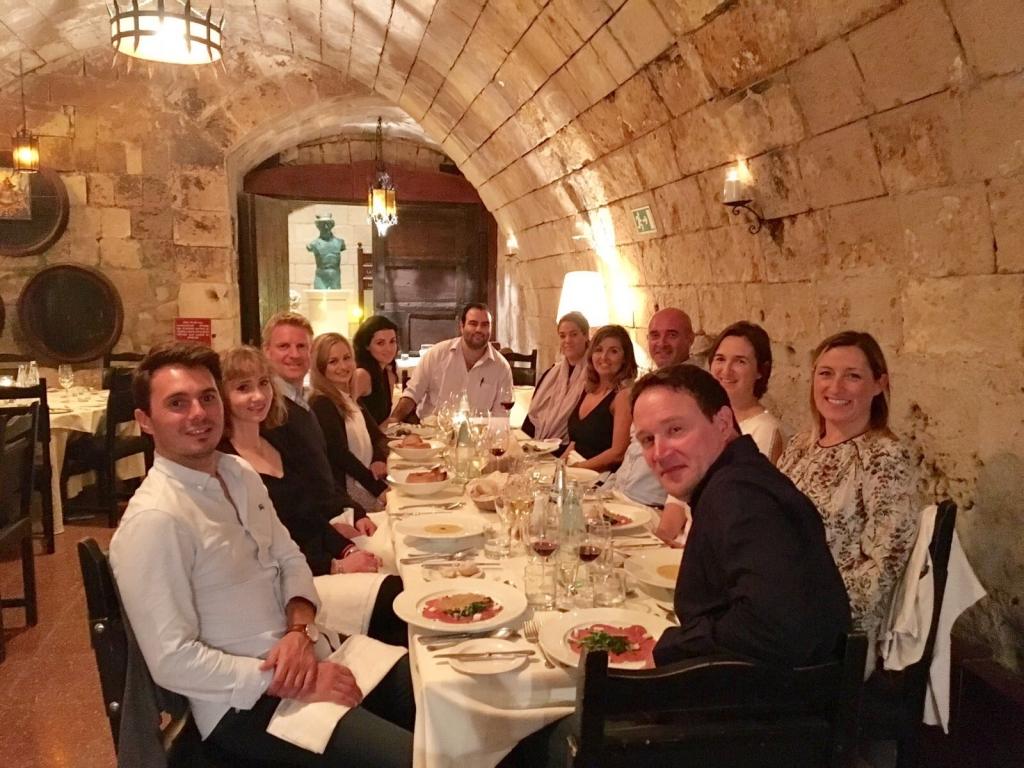 Bacchus Restaurant Malta