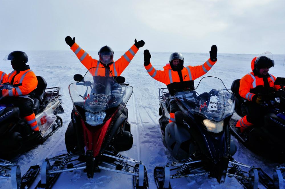 CP Reykjavik Iceland - Snowmobiles
